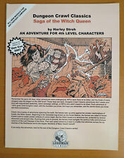 Saga of the Witch Queen 1st Edition Goodman Games Gen Con 2007 Near Mint