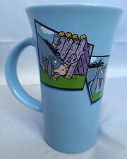 Disney Store Eeyore Winnie the Pooh Blue Coffee Tea Mug LARGE