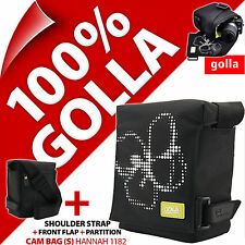 New Golla Camera Case + Strap for Compact Mirrorless Camera, Semi SLR, Camcorder