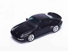 Spark Model 1:43 S4476 Porsche 993 Turbo 1996 Black NEW