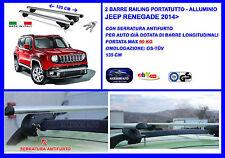 Kit Barre Portatutto - Portapacchi - Portabagagli  Jeep Renegade  2014> Suv