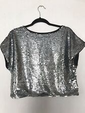 3e489f747788dc FOREVER 21 Sequin Solid Tops   Blouses for Women for sale