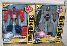 NEW 2018 Transformers Cyberverse Ultimate Optimus Prime Megatron NIP IN HAND