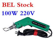 BEL Stock!!! 220V 100W Fabric Banner Heat Cutter Hot Knife Cutting Tool