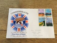 GB STAMPS FIRST DAY COVER 1983 COMMONWEALTH DAY