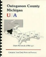 MI Ontoganon/Gogebic County~RP 1883 History of the Upper Peninsula of Michigan