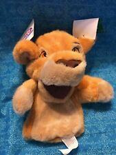 """Disney Store The Lion King KIARA Hand Puppet 10""""  Plush Toy"""