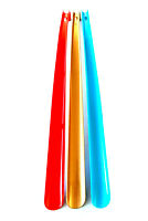 3 Stück XXL Schuhlöffel Kunststoff 65 cm | Schuhanzieher lang | Schuhanziehhilfe