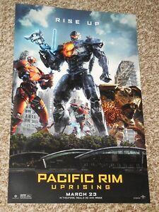 Pacific Rim Uprising 11x17 Promo Movie POSTER