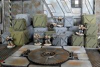 20 Green & Grey Cargo Crates - Warhammer/Infinity/Necromunda/Sci Fi Scenery v.1