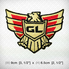 GL Eagle Goldwing EMBROIDERED IRON ON PATCH Motorcycles Chopper Motorrad Biker