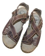 Mens DR MARTENS Leather Fisherman Sandals sz 10
