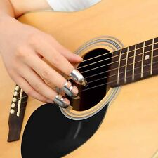 Stainless Steel Guitar Accessories 3Pcs/pack  Guitar Picks Finger Plectrums