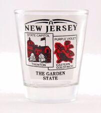 NEW JERSEY STATE SCENERY RED NEW SHOT GLASS SHOTGLASS