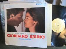 Ennio Morricone Giordano Bruno Rare Italian Soundtrack LP OST RCA '73 nicolai !!