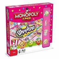 Shopkins Monopoly Junior Board Game