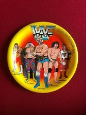 "1985, WWF, Hulk Hogan, ""Un-Used"" (7"") Paper Party Plate & (5"") Napkin Set"