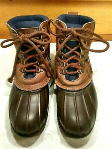 "Women's LL Bean Boots Size 6 /36.5 Gforce Compound Rubber Sole Leather 6"" Upper"