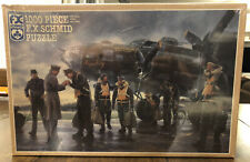 """New ListingNew 1000 piece F.X Schmid Jigsaw Puzzle """"Coming Home: England 1943�"""