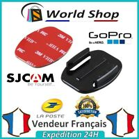 Support GOPRO SJCAM Adhésif plat HERO 1 2 3 4 5 3+ Fixation casque Go pro SJ4000