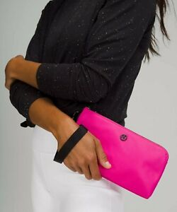 Lululemon Now and Always Pouch sonic pink