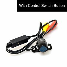 Mini Auto Car Backup Camera Button Control Front/Rear NTSC/PAL Guide Line ON/OFF