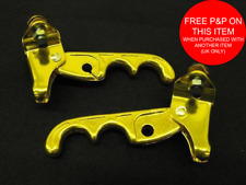 OLD SCHOOL BMX /BURNER DIA COMPE TECH 2 TYPE ALLOY BRAKE LEVER ANODISED GOLD NOS