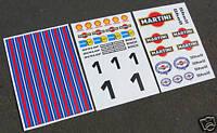 HPI BAJA 5T 1/5th RC MARTINI stickers decals FG MCD