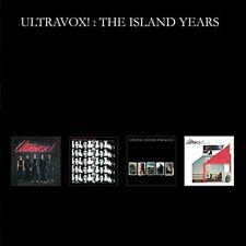 ULTRAVOX - THE ISLAND YEARS (BOX SET)  4 CD NEU