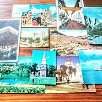 Vintage Postcards Mixed Lot Variety Places Outdoor Souvenirs Memorabilia...