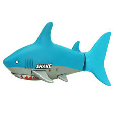 Remote Control Shark Swimmer, Mini RC Fish Boat Electric Toy for Kids Blue