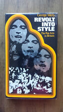 George Melly – Revolt into Style (1st/1st UK 1970 hbdw) pop music art tv fashion