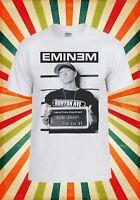 Eminem Slim Shady Rap Cool Funny Men Women Vest Tank Top Unisex T Shirt 2139