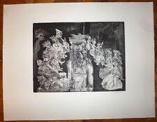 Bogratchew Claude gravure originale signée art abstrait abstraction Don Juan
