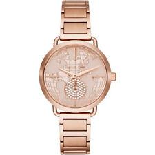 Michael Kors MK3828 Ladies Portia  Rose Gold Tone Bracelet Watch