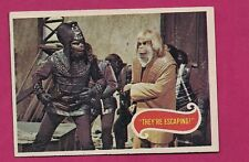 Rare 1975 # 30 Planet Of The Apes They Re Escaping Ex-Mt Card (Inv# A2494)