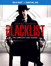 The Blacklist: The Complete First Season (Blu-ray Disc, 2014, 5-Disc Set)