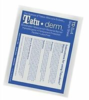 "Tatu-Derm Sheet - 6"" x 4"" - Tattoo Aftercare Advanced Skin Healing"
