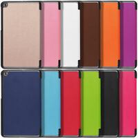 Magnetic Leather Smart Flip Hybrid Case For LG G Pad X2 8.0 Plus / Sprint F2 8.0