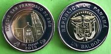 Panama coins new issue 1 balboa 2018 - 2019 year Iglesia San Fco Asis *JMJ*  1Pc