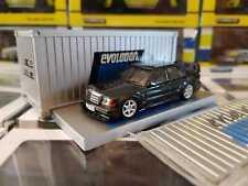 Tarmac Works 1/64 Mercedes-Benz 190E 2.5 16 Evolution II Black No Mini GT
