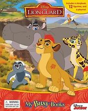 Disney The Lion Guard My Busy Book 12 Character Figurines & Playmat