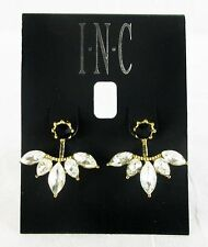 INC International Concepts Gold-Tone Pointed Crystal Earring Jackets MSRP$22.50