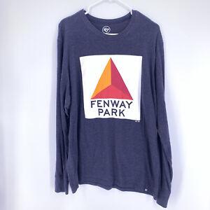 '47 Fenway Park Citgo Sign Boston Red Sox T-Shirt Adult Size XL Dark Gray
