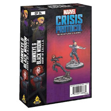 Marvel Crisis Protocol Miniatures Game Hawkeye and Black Widow