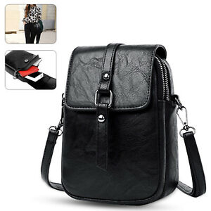 Women Cell Phone Purse Bag Handbag Shoulder Strap Vintage Wallet Crossbody Pouch