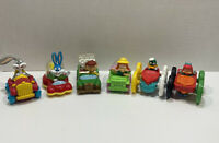 Vintage 6 1992 McDonalds Tiny Toon Adventures Happy Meal Toys Bugs Bunny