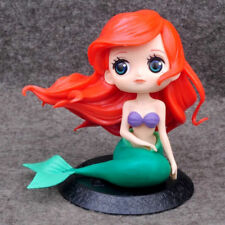 Q posket Disney Characters Little Mermaid GIRL PVC Figure Toys Gifts Ariel Loose