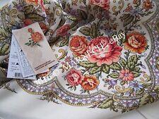 Women's Shawl Russian Pavlovo Posad kerchief Virgin Natural 100% Wool scarf wrap
