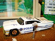 HOT WHEELS 1959 CHEVROLET IMPALA BIRMINGHAM AL POLICE CAR LIMITED EDITION  1/64